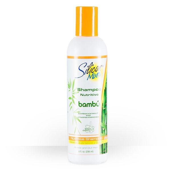 SILICON MIX Shampooing nutrition BAMBOU 473ml (Shampoo Nutritivo)