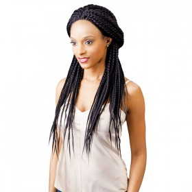 NEW BORN FREE perruque BOX BRAID (Magic Lace)