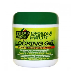 IRIE DREAD Gel fixant pour locks formule cheveux épais 170g (Locking Gel Resistant Hair)