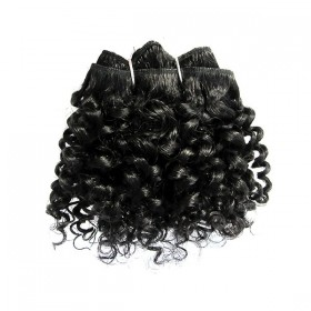 "EVER CHOCOLATE tissage 5pcs JERRY CURL 7""9""11"" (Pure)"