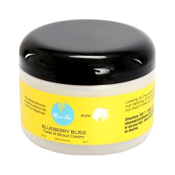 CURLS Crème pour torsades BLUEBERRY BLISS 240ml (Twist n Shout Cream)