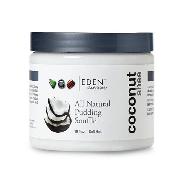 EDEN BODYWORKS Crème hydratante boucles COCO KARITE 473ml (Pudding Soufflé)