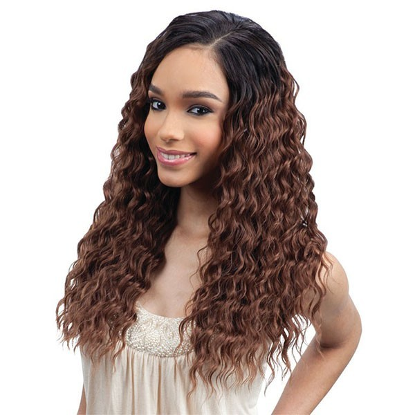 "FREETRESS tissage DEEP SET CURL 5PCS 12""14""16""18"""
