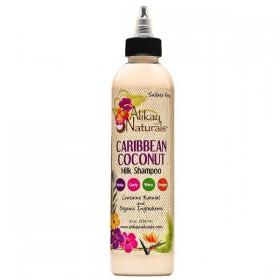 ALIKAY NATURALS Shampooing LAIT DE COCO 236ml (Caribbenan Coconut Milk Shampoo)