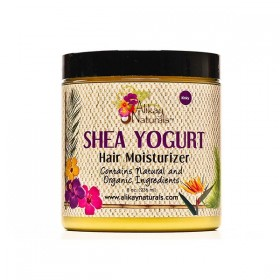 ALIKAY NATURALS Crème scéllante KARITE 236ml (Shea Yogurt Hair Moisturizer)