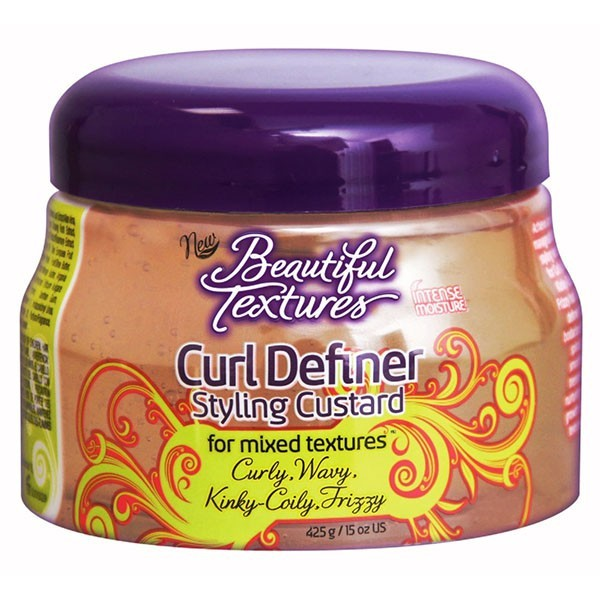 BEAUTIFUL TEXTURES Gel définition boucles CURL DEFINER STYLING CUSTARD 425g