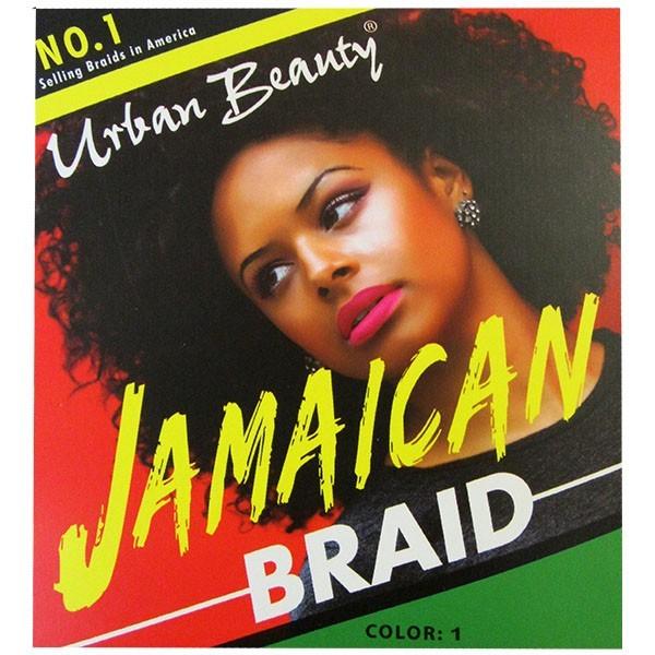 "URBAN BEAUTY natte JAMAICAN BRAID 30"""