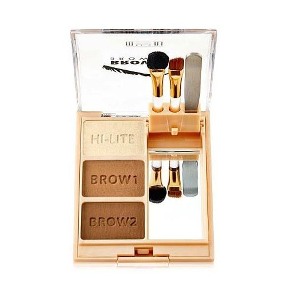MILANI 02 MEDIUM Kit sourcils 4.2g (Brow Fix Kit)