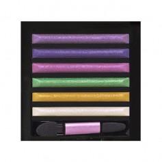 MILANI 10 HAUTE COUTURE Eye Shadow Palette 9g (Runway Eyes Fashion Shadows Kit)