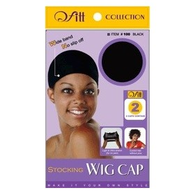 "QFITT Bonnet perruque x2 ""Strocking Wig Cap"""