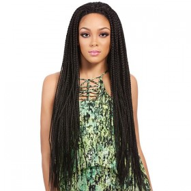 IT'S A WIG perruque nattée LACE CROCHET BRAID (Lace Front)