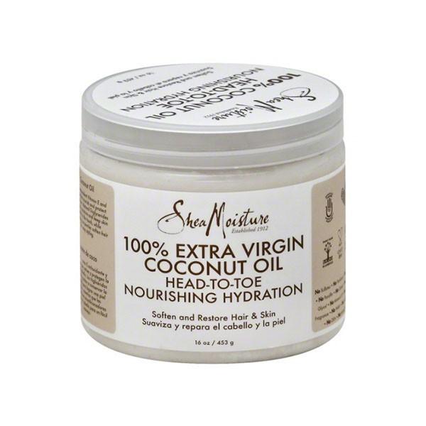 SHEA MOISTURE Huile de Coco 100% extra vierge 445ml (Extra Virgin Coconut Oil)