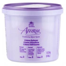 AFFIRM Crème défrisante cheveux normaux ARGAN PEQUI & CUPUACU 1.82kg