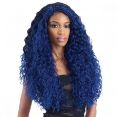 EQUAL perruque nattée FLEXI CURL BRAIDS (Lace Front) *