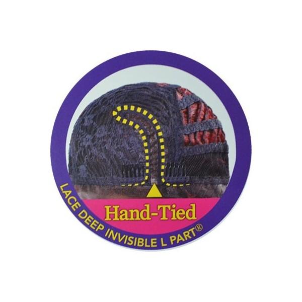 EQUAL perruque nattée FLEXI CURL BRAIDS (Lace Front)