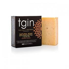 TGIN Savon naturel GINGEMBRE PÊCHE 113g (Ginger Peach)