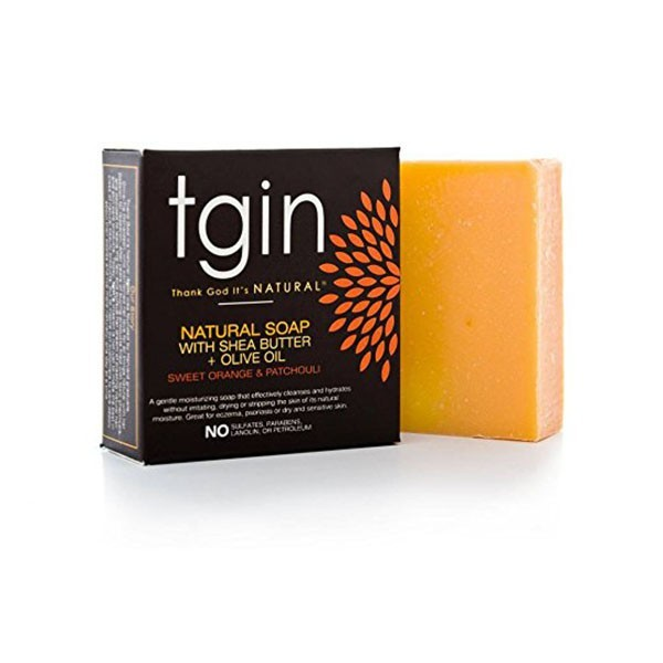 TGIN Savon naturel ORANGE DOUCE PATCHOULI 113g (Sweet orange Patchouli)