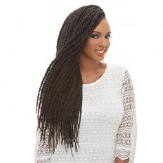 JANET natte TRIPLE AFRO TWIST BRAID (3X)