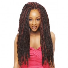 JANET natte Tantalizing Twist Braid X2 18""