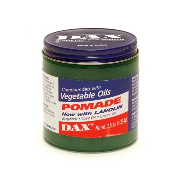 DAX Pommade cheveux secs 214g (Vegetable oils)