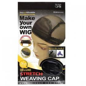 QFITT Stretch cap wig 5018 BLACK