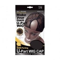 Cap invisible wig Lace Front U-Part SIDE 5014 BLACK