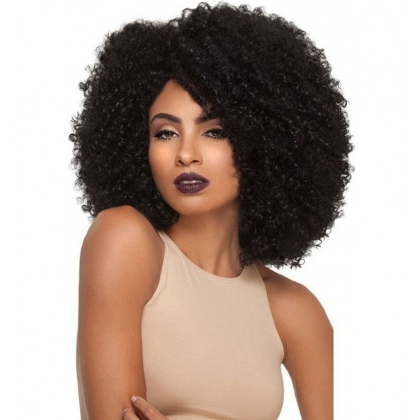 OUTRE perruque 4A KINKY (Lace Front)
