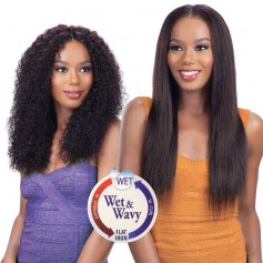 "MODEL tissage FRESH WET & WAVY BOHEMIAN CURL 7pcs 14""16""18"""