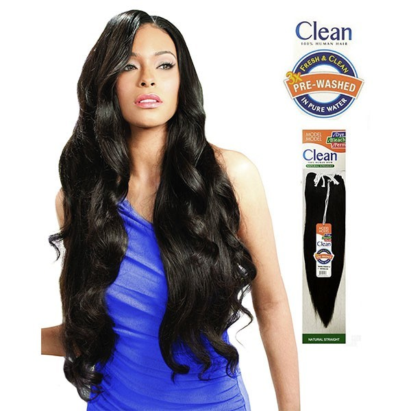 MODEL MODEL tissage NATURAL STRAIGHT (CLEAN)
