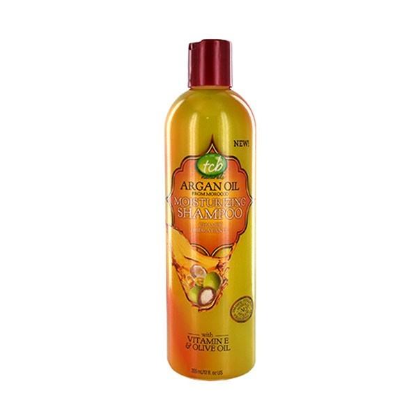 TCB NATURALS Shampooing hydratant à l'huile d'Argan 355ml MOISTURIZING SHAMPOO