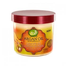 TCB NATURALS Après-shampooing sans rinçage à l'huile d'Argan 340g LEAVE-IN CONDITIONER