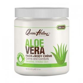 QUEEN HELENE Moisturizing body and face cream ALOE VERA 425g
