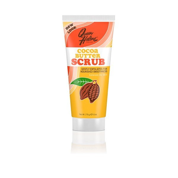 QUEEN HELENE Gommage apaisant visage BEURRE DE CACAO 170g CACAO BUTTER SCRUB