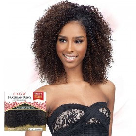 "SAGA tissage PASSION CURL 5PCS 8""14"" BRAZILIAN REMY"