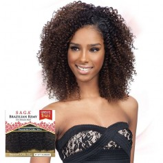 "SAGA tissage PASSION CURL 5PCS 8""-14"" BRAZILIAN REMY"