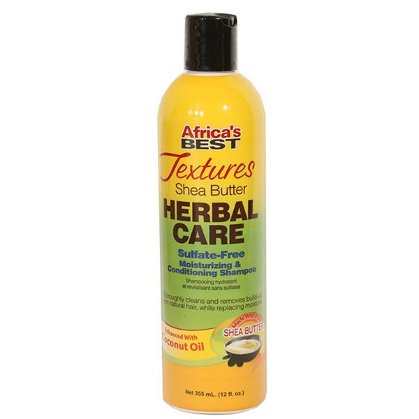 ARICA'S BEST Shampooing sans Sulfates KARITE & COCO 355ml HERBAL CARE