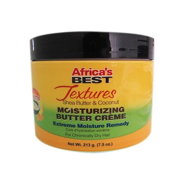 AFRICA'S BEST Crème capillaire hydratrante intense COCO& KARITE 213g MOISTURIZING BUTTER CREME