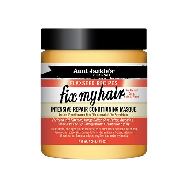 AUNT JACKIE'S Masque revitalisant intensif 426g FIX MY HAIR