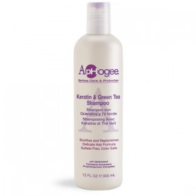 APHOGEE Shampooing KERATINE & THE VERT 355ml KERATIN & GREEN TEA SHAMPOO
