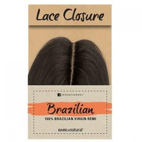 "SENSAS Brazilian Closure NATURAL BODY 12"" (Lace)"