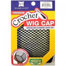 Bonnet pour perruque en crochet CROCHET WIG CAP