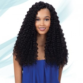 FREETRESS natte crochet PRE-LOOP CROCHET DEEP TWIST 16""