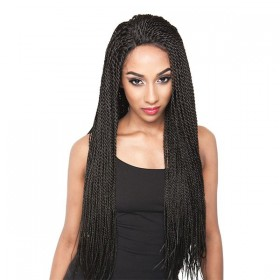 ISIS perruque nattée BRANDY TWISTS (Lace Front)