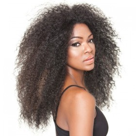 "ISIS perruque AFRO KINKY 18"" (Lace Front)"