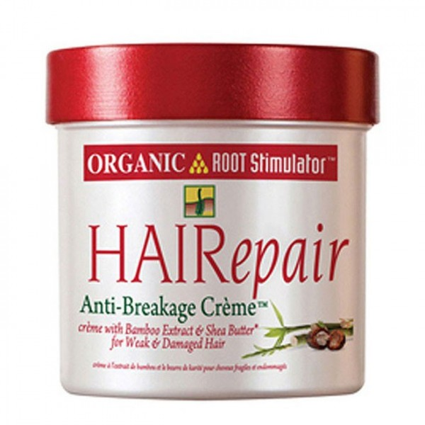 ORGANIC ROOT STIMULATOR Crème anti casse Bambou & Karité Hairepair 142g *ancien emballage