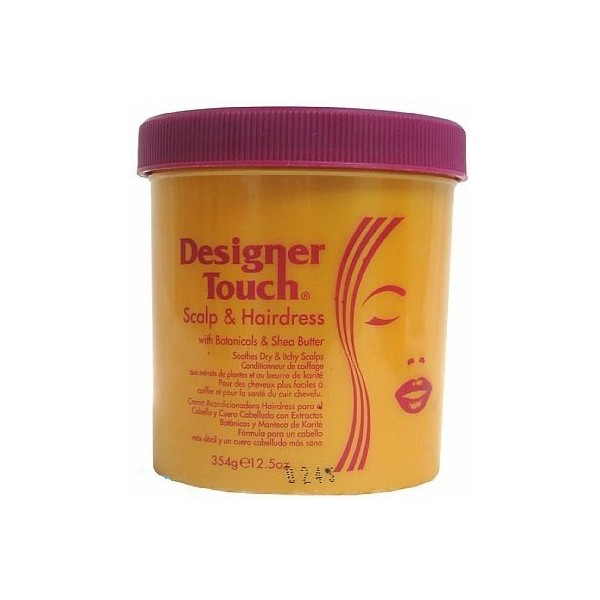 DESIGNER TOUCH Brillantine au karité 354g Hair & Scalp Hairdress