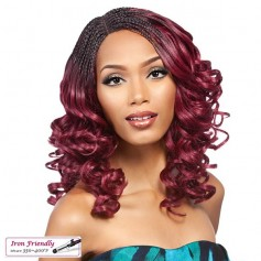 IT'S A WIG perruque LACE INVISIBLE BRAID ROMANCE