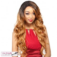 IT'S A WIG perruque nattée LACE INVISIBLE BRAID WAVY
