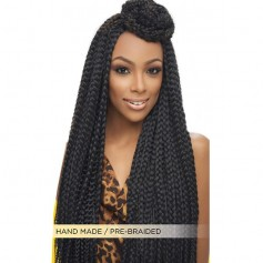 "HARLEM natte SENEGAL BOX BRAID JUMBO 20"" (African)"