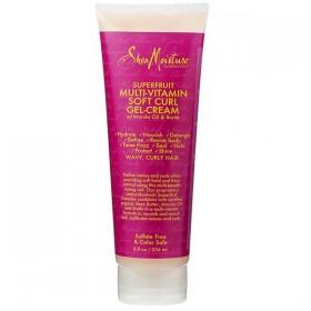 SHEA MOISTURE Gel-crème pour boucles SUPERFRUIT Multi-Vitamin Soft Curl 236ml